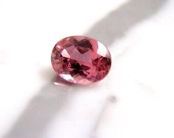 Oval Genuine 2.88ct Pink Tourmaline Loose Gemstone