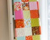 Baby Quilt - Wrens and Friends Baby Quilt - Crib Quilt - Small Lap Quilt - READY TO SHIP