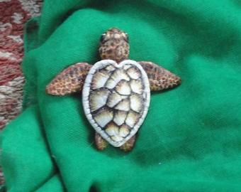 Custom Sea Turtle Pendant