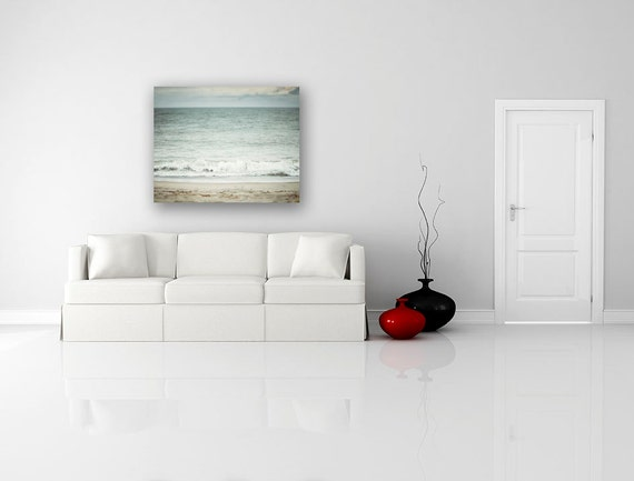 Peaceful Bedrooms Hung With Rosies Paintings : Peaceful Bedrooms Hung With Rosies Paintings : Beach Canvas Art, Large ...