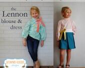 BG Originals Lennon Blouse & Dress pdf pattern