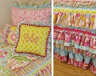 Twin Size Kumari Garden Bedding- Duvet Cover or Comforter