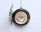 Best Friend Gift, Friendship Necklace, Friendship Jewelry, Gift for Friends, Personalized Locket Necklace, Sister Jewelry, Sisters Necklace