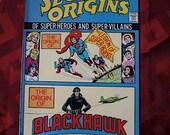 Secret Origins DC Comics 1974 No 6 Superman Super Boy Super Girl Blackhawk Cosmic Boy Saturn Girl Lightning Lad Sci Fi Adventure
