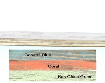 Perfectly Weathered Surfboard Shelf Multiple Color Choices