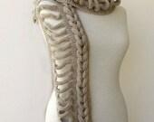 Knit scarf Knitting Scarf Pattern Knitting Pattern Knit Infinity Scarf Long Scarf PDF Pattern Instant Download