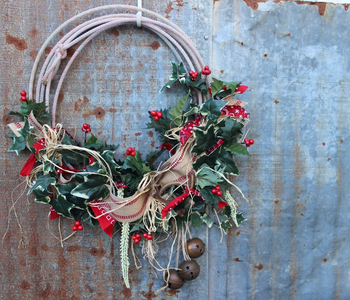 Western Christmas Wreath