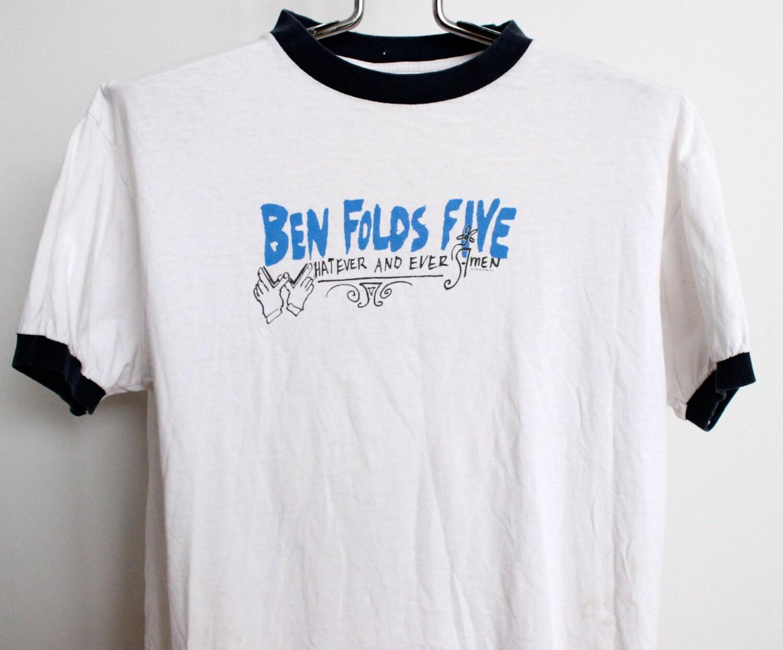 Black t shirt ben folds -  Zoom