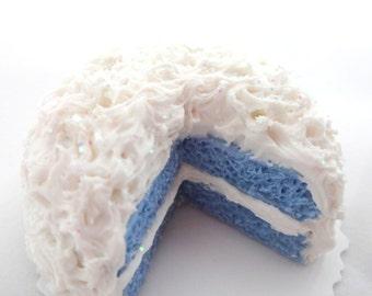 Miniature Cake, Fairy Garden, Dollhouse Miniatures, Birthday Cake
