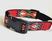 Dog Collar -  Navajo Style  -  50% Profits to Dog Rescue
