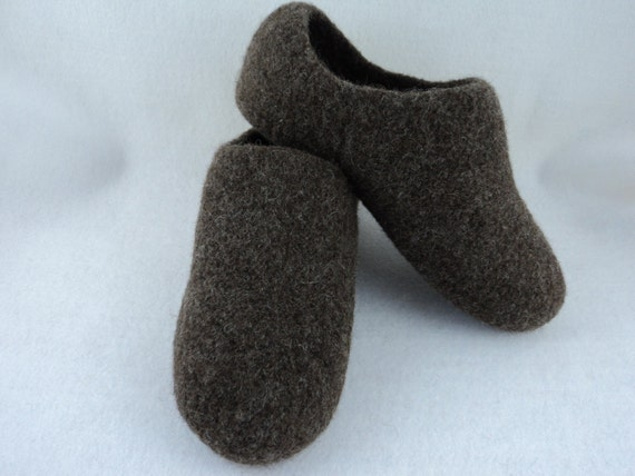 PDF Mens Felted Slippers Knit Wool Pattern