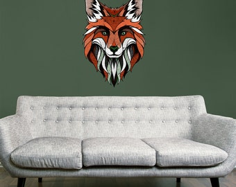 Fox Wall Sticker Decal by Andreas Preis