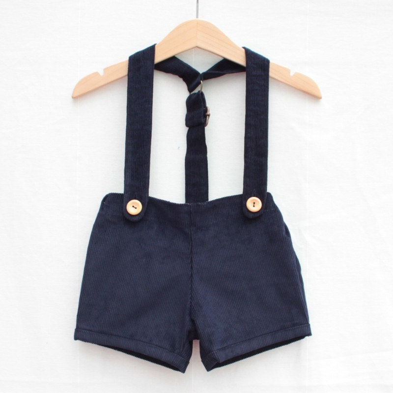 Retro Baby Shorts With Braces Hipster Baby Pants Baby Boy