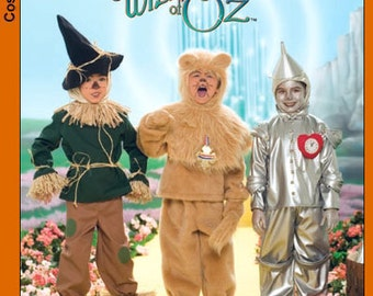 SIMPLICITY PATTERN 4133 – Boys' Wizard of Oz Costumes (Out of Print)