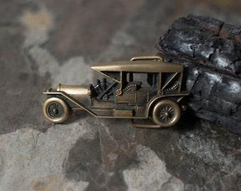 sale // brass car belt buckle