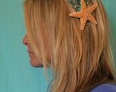 Mermaid Hair Clip Starfish Seahorse Sparkly Barrette