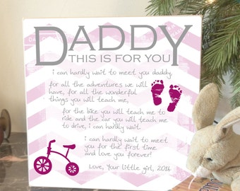 Daddy To Be Gift, New Daddy Gift, Gifts for New Dads, Baby Shower Gift, New Baby, Godparents, Grandparents, Gifts for Dads, Newborn Gift