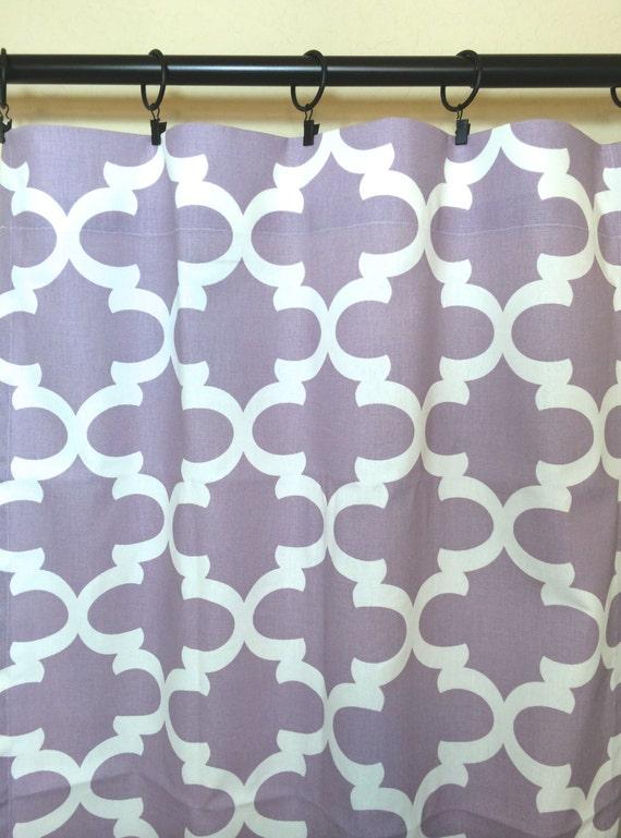 purple moroccan curtain panels pair of quatrefoil window drapes