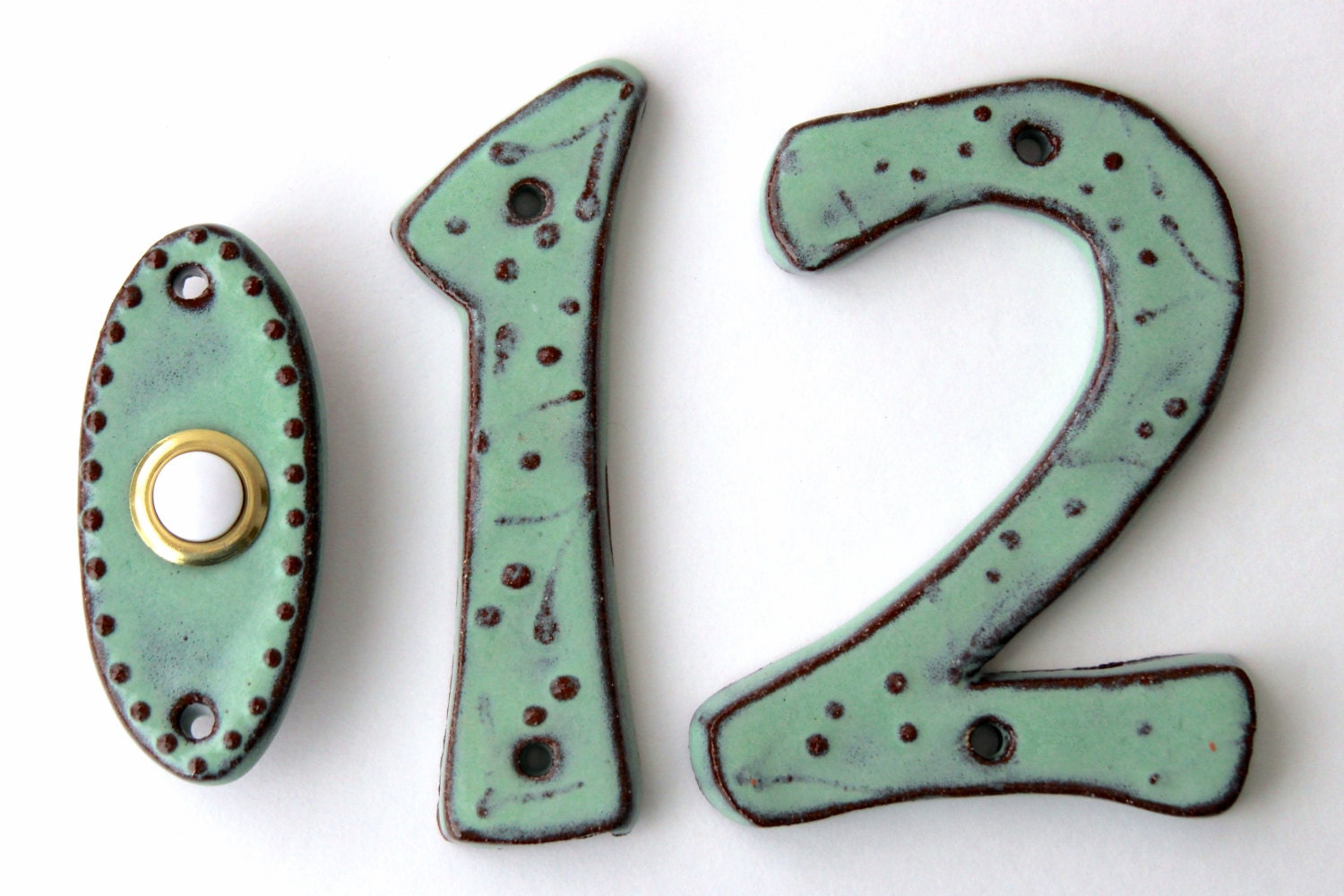 Address Outdoor House Numbers Set Of 2 4 Inch 5 Inch Or 6
