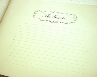 Vintage 'Our Wedding' Wedding Planner Book - Unused