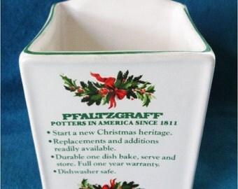 Pfaltzgraff Store Brochure Holder