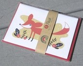 Red Fox Note Card Set