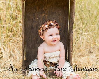 Flower Girl Rhinestone Headband Flower Girl Headband Country Wedding Bridal Headband