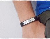 Leather Men's Bracelet, Leather Viking Bracelet, Norse Bracelet Cuff, Nordic Bracelet, Wicca Leather Bracelet, Celtic Bracelet Cuff