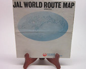 JAPANESE AIRLINE MAP Jal World Route Map