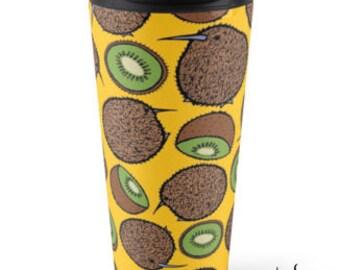 Kiwi Party Travel Mug, 15oz