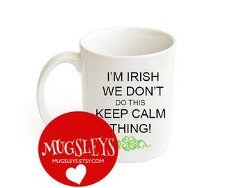 Funny Wedding Gifts Ireland : ... Irish Gift,Saint Patricks Day, Irish Mug,Shamrock, Irish Wedding Gift