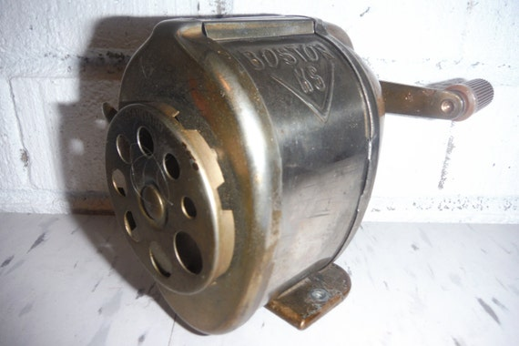 Vintage Pencil Sharpener School Wall Mount Boston By