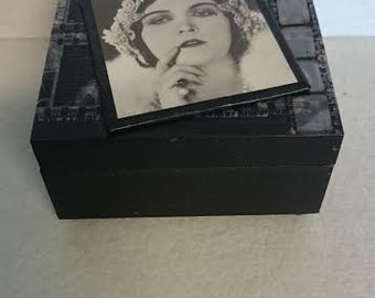 On The Big Screen - Decorative Wood Box