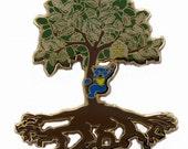 Grateful Dead JGB Jerry Garcia How Sweet It Is Tree of Life Hat Lapel Pin