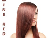 Henna Maiden Vibrant Wine Red 100% Natural Chemical Free Hair Coloring (807)