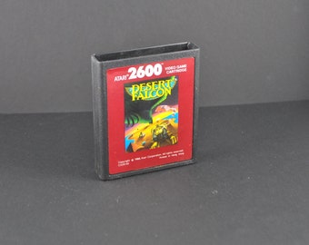 Atari 2600 Desert Falcon Game From Atari 1982