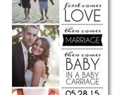 Printable Pregnancy Announcement