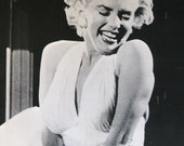 """Very Large Door Size Poster Marilyn Monroe Seven Year Itch 21"""" x 62"""""""