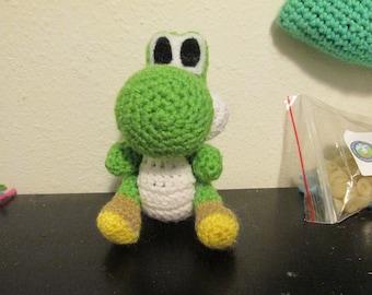 Yoshi Crocheted Plushie