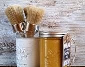 Handmade Chalk Paint, Gold, Gold Arrow, Gold Art, Gold Decor, Gold Desk Accessories, DIY, Gold Drawer Pulls, Gold Knob, Gold Frame, Gold Key