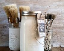 Handmade ChalkFinish Paint, White Picket Fence, Cottage Chic, Cottage Sign, Cottage Furniture, Beach Cottage Decor, Picket Fence Decor, Snow