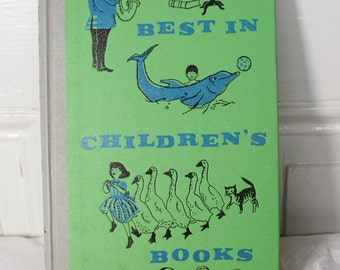 Best in Children's Books- copyright 1967 by Nelson Doubleday, Inc.- Vintage Hardback Reading Story Book