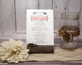 Coral Wedding Ceremony Pr...