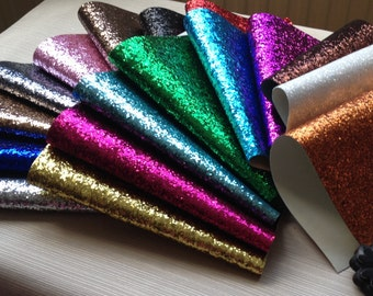 Glitter Fabric Material. A4 SHEET-30cm x 21cm - Sewing Craft Applique