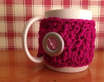 Crochet Coffee Cup Cozy, Coffee Cup Sleeve