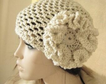 Crochet Cloche Hat 1920s Hat Crochet Hat