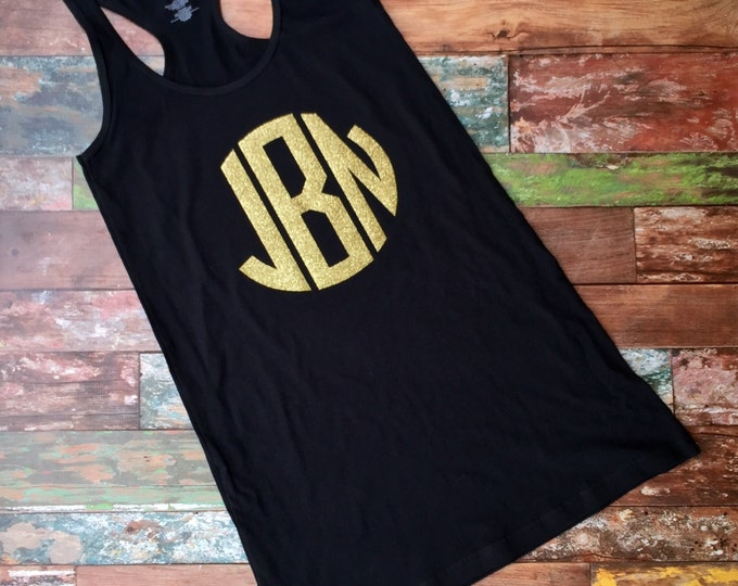 Monogrammed Swimsuit Coverup, Tank dress, Monogrammed Coverup, Beach cover up, Bachellorette, Bridesmaid Gifts