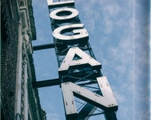 The Logan Theatre - Logan Square, Chicago - Photography Print vintage sign photo