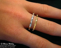 Sterling Silver Rosary Ring, Prayer Ring, First Communion Ring, Meditation Ring Handmade in Sterling Silver or 14kt Gold