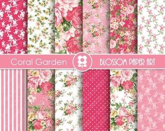 Papeles digitales estampados im genes para por blossompaperart - Papeles decorativos para imprimir ...